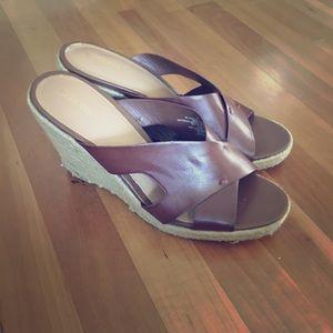 Brown classic wedge sandal Merona